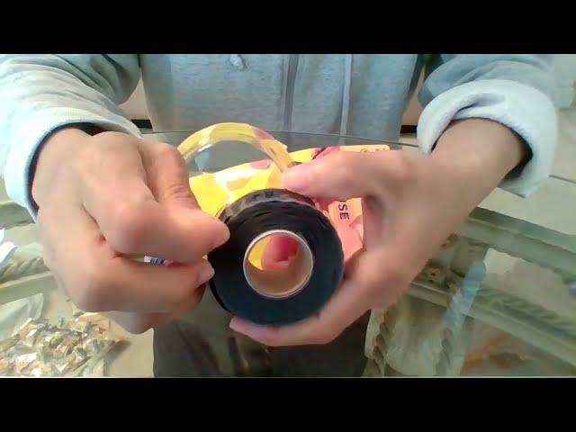 The Original Super Glue E-Z Fuse Silicone Tape Unboxing (Made in U.S.A.) Waterproof, Airtight Seal