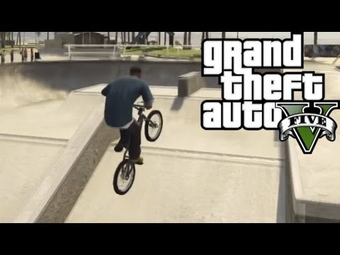 ★ GTA 5 - Skatepark & BMX Bike Location & Gameplay