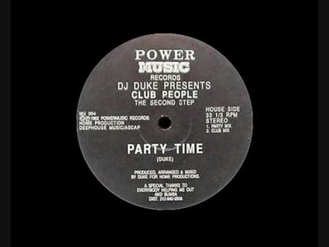 DJ Duke Pres. Club People - Party Time (Party Mix)   1992