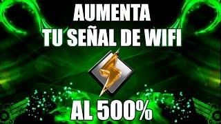 Como aumentar tu señal de wifi al 500%  en windows 10, 8, 7 | TutosPro HD