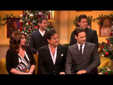 """Il Divo - Performing """"Tonight"""" And Interview ITV1 - 2013.12.02"""