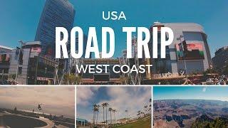 USA West Coast Road Trip - 2016