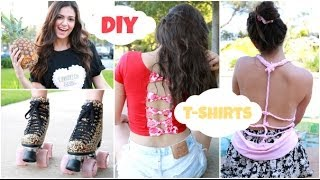 Easy & Unique DIY T shirts for Spring Break!! Thumbnail