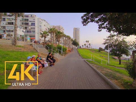 Bat Yam, Israel 4K - City Walking Tour - Cities Of The World