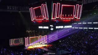 Super Junior (슈퍼주니어) - Black Suit + Eunhyuk dancing to song …