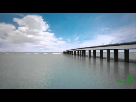 Bridge over Niger river, Onitsha, Nigeria ( Conceptual Design - var 1 )