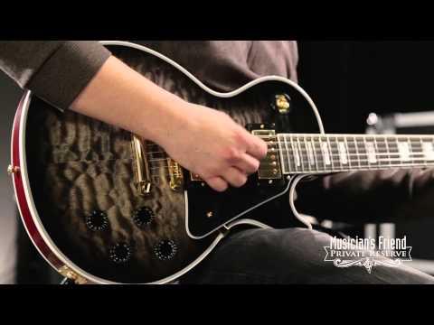 Gibson Custom Shop Limited Run Les Paul Custom Quilt Electric Guitar Regular