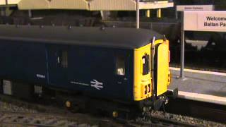 HELJAN CLASS 128 DPU GLOUCESTER PARCELS UNIT BR BLUE REVIEW WITH HOWES DCC SOUND_