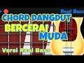 Cover Chord Dangdut Bass Bercerai Muda Real Bass Populer