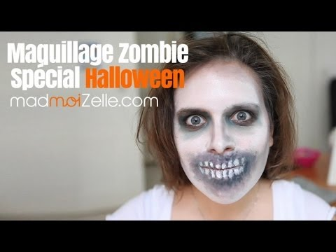 tuto maquillage zombie sp cial halloween youtube. Black Bedroom Furniture Sets. Home Design Ideas