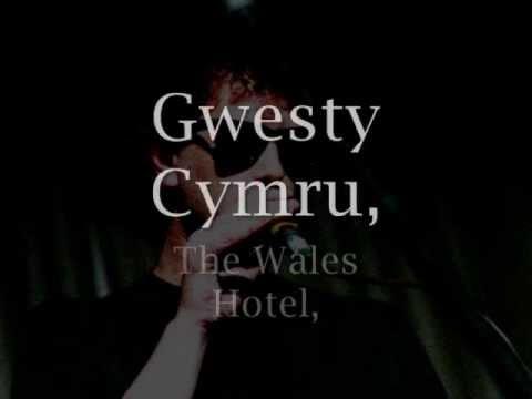 Gwesty Cymru - Geraint Jarman a'r Cynganeddwyr (geiriau / lyrics)