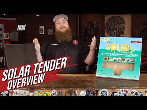 Solar Tender by Battery Tender Overview - Dime City Cycles