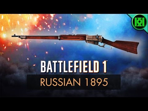 Battlefield 1: Russian 1895 Review (Weapon Guide) | BF1 Weapons + Guns | Winchester M1895 Gameplay
