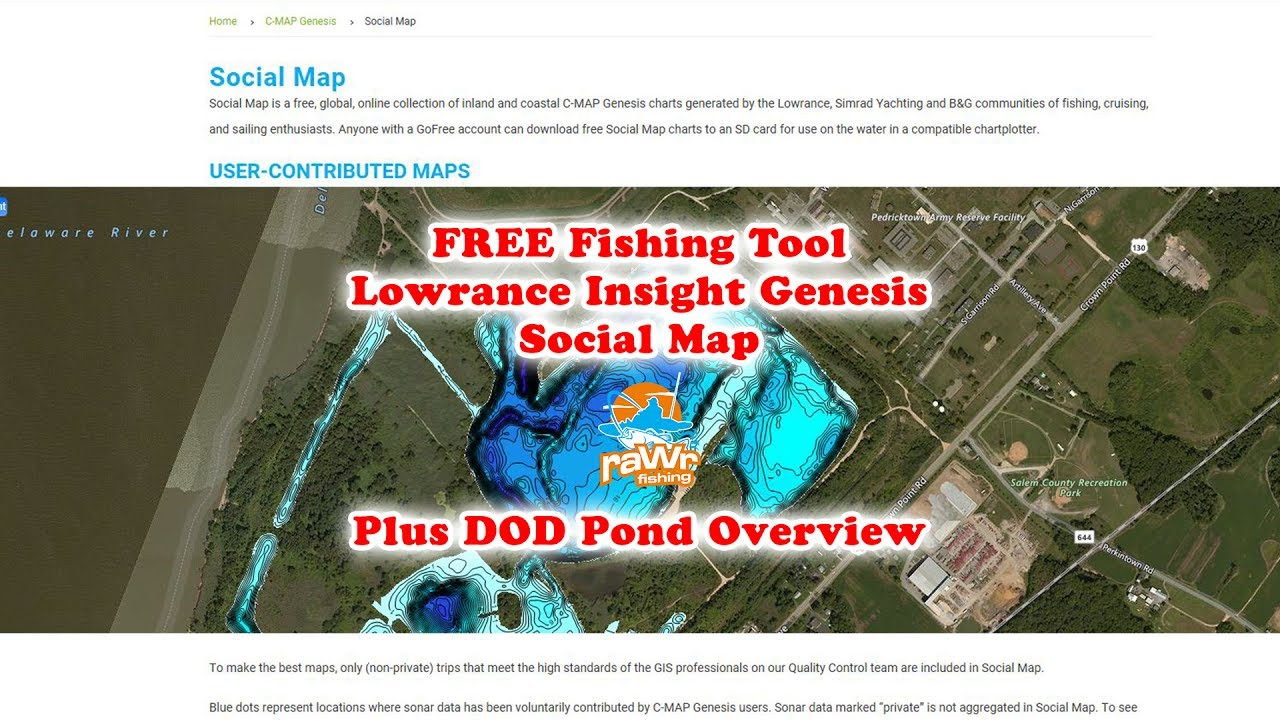 free fishing maps lowrance insight genesis social map youtube rh youtube com Quick Reference Guide Kindle Fire User Guide