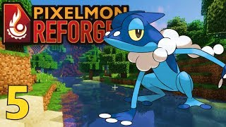 Let's play pixelmon reforged