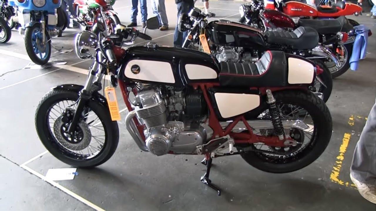 Walk around 1975 honda cb750f manx style cafe racer 2013 hoame clymer manuals honda cb750f vintage cafe racer motorcycle video classic cb750 publicscrutiny Gallery