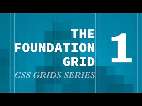 Zurb Foundation Grid - CSS Grids Series (setup & nav)