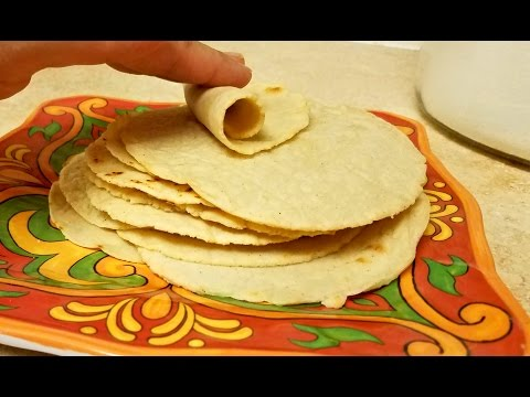 Recipe: Easy Small Size Corn Tortillas