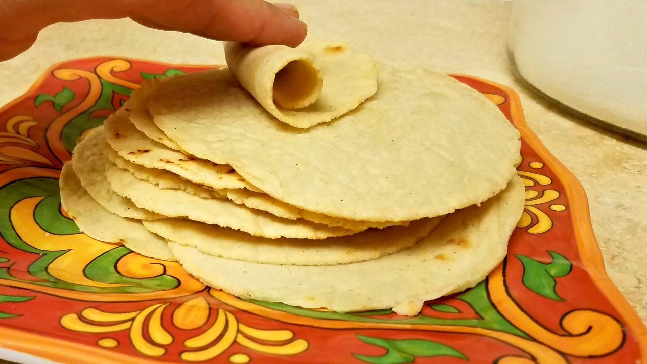 Easy Corn Tortilla Recipe Small Size Corn Tortillas Youtube