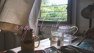 Vlog 2 - Painting, A Dog's Beach Day, and Food with Friends