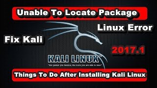Only 2 Minutes Kali Linux Repository Issue Solve [