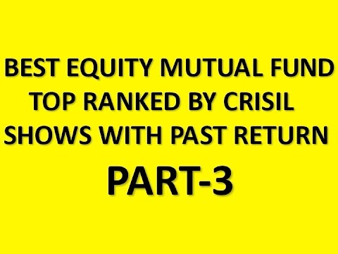 TOP MUTUAL FUND RANKED BY CRISIL TO INVEST- PART-3 #5