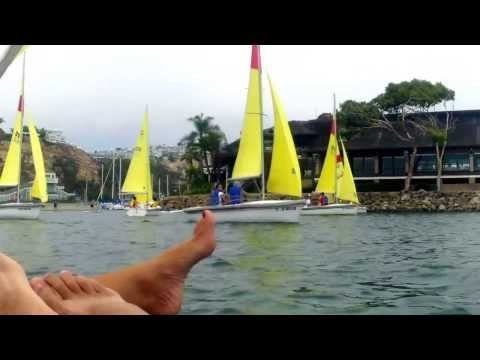 """""""3 Sail Boats Collide at start of Race - No injuries."""""""