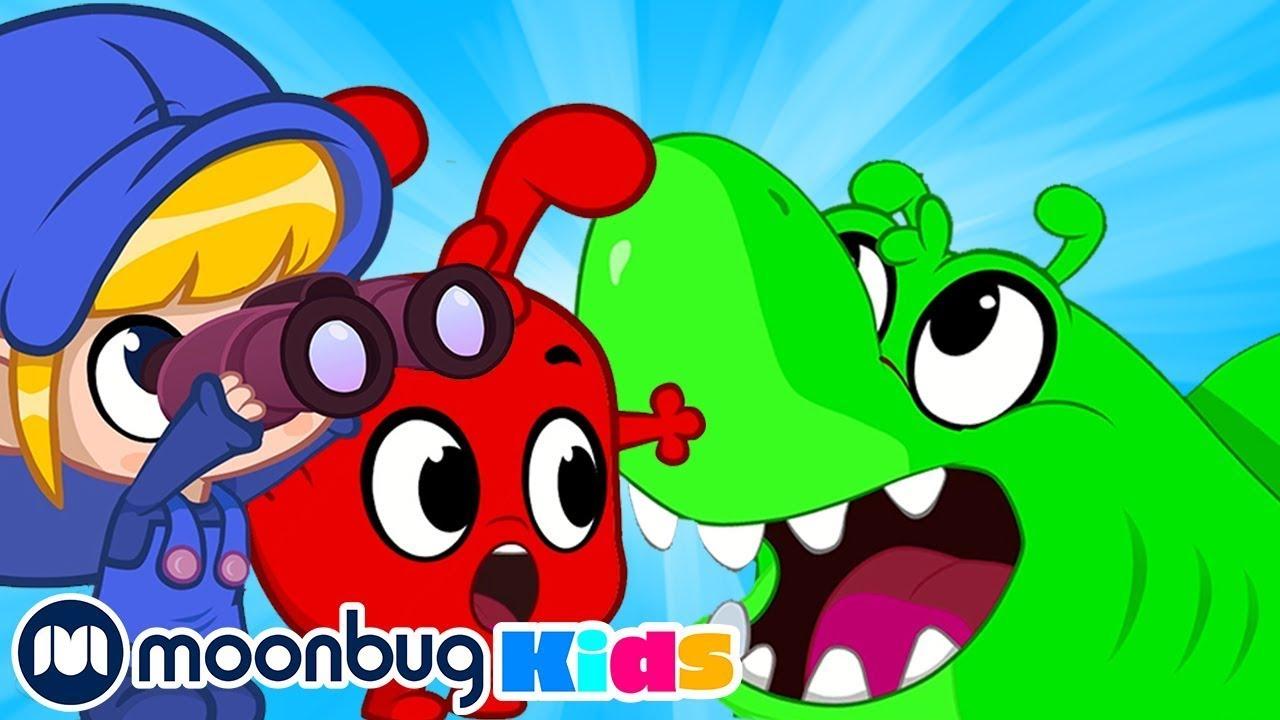 Animal Spotting with Orphle | Morphle TV | Kids Cartoons & Nursery Rhymes | Moonbug Kids