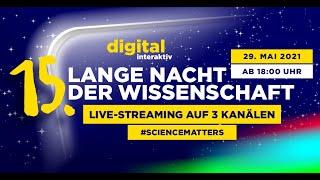 15. Lange Nacht der Wissenschaft digital.