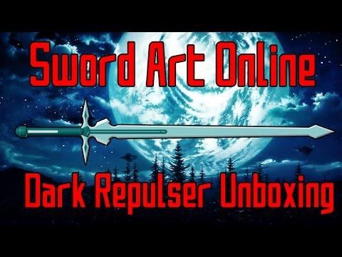 Kirito's Dark Repulser Unboxing | Sword Art Online