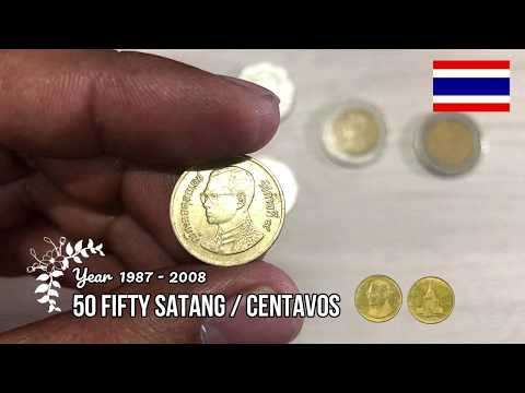 My Thailand Coins Collection Thai Baht coins