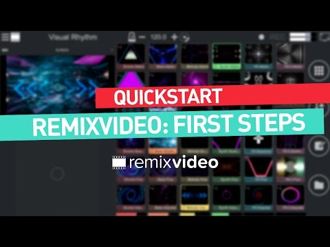 Remixvideo tutorial   Quickstart