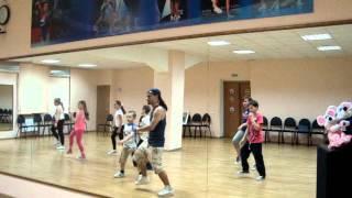 Онлайн урок LET'S DANCE CLUB.Дети Хип-хоп.Связка №1.2.3. Борис Скворцов