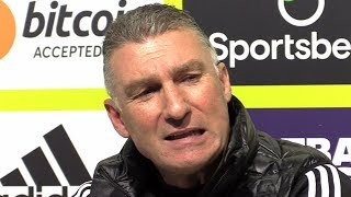 Watford 2-0 Man Utd - Nigel Pearson FULL Post Match Press Conference - Premier League