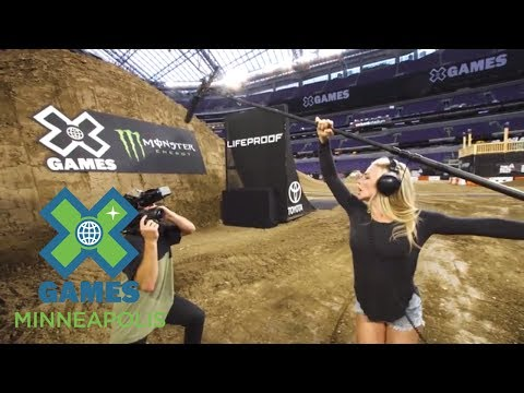 Jack Mitrani and Dianna Dahlgren are ready! | X Games Minneapolis 2017