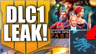 BLACK OPS 4 DLC1 LEAKED! New Specialist, Hijacked, NEW Zombies Map, and Black Market Update & More!