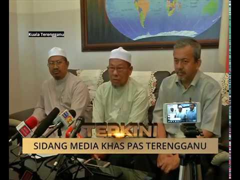 Sidang media khas Pesuruhjaya Pas Terengganu