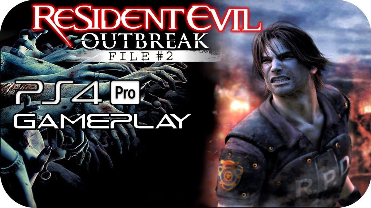 Resident evil outbreak ps4