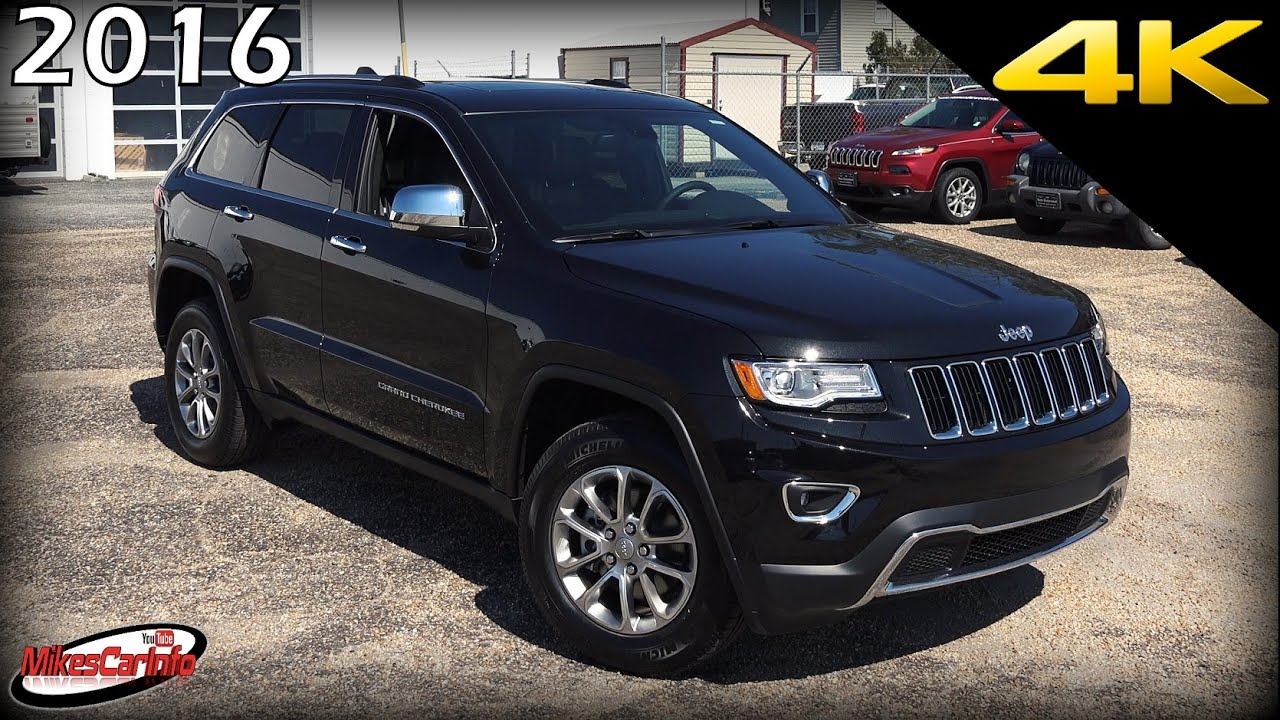 Blacked Out Jeep >> 2016 Jeep Grand Cherokee Limited - Ultimate In-Depth Look in 4K - YouTube