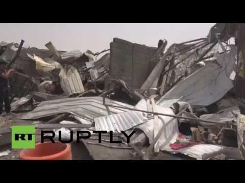 News - Yemen: Hodeidah clear-up continues following Saudi-led airstrikes