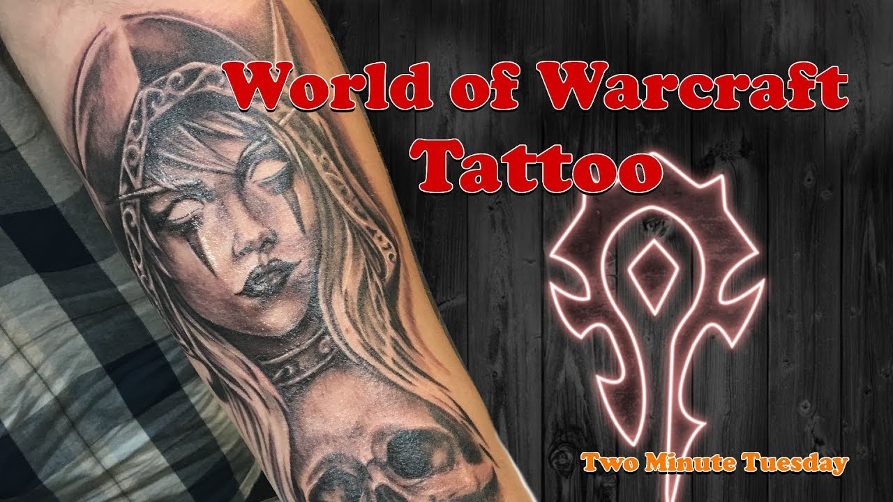 09fb2256c World of Warcraft Tattoo? - Two Minute Tuesday - YouTube