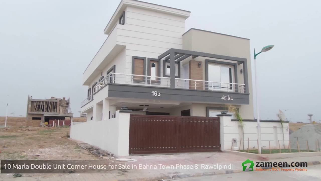 Stylish corner house is available for sale in bahria town phase 8 rawalpindi
