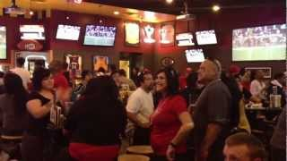 Forty-Niners Final Count Down to Victory against the Falcons at Buffalo Wild Wings, Stockton, CA