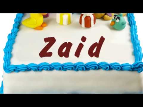 Happy Birthday Zaid