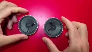 بطريقة سهلة ورائعة تعلم كيف تصنع اطارات مكبرات الصوت بواسطة علب الصودا