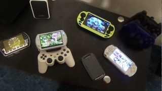 Sony Ericsson Xperia Play vs PSP Go vs PSP 2000 vs PSP vs PS Vita