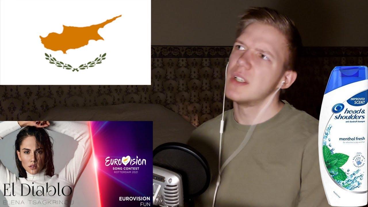"FIRST REACTION: Elena Tsagrinou ""El Diablo""   Cyprus Eurovision 2021"