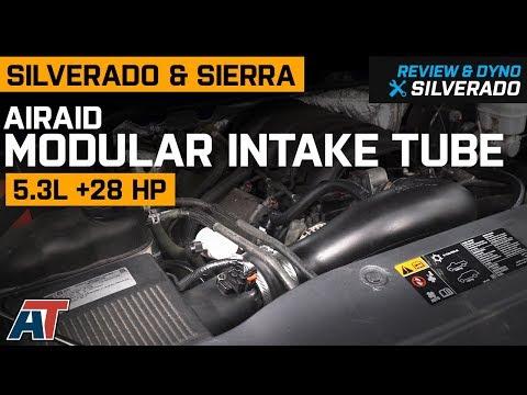 2014-2018 Silverado & Sierra Airaid Modular Intake Tube 5.3L Review & Dyno
