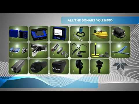 Teledyne RESON, BlueView & Odom Hydrographic brand video - All the sonars you need