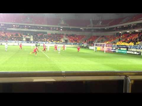 Arrêt de MAKARIDZE sur Penalty contre Valenciennes